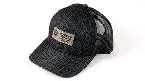 Hat - Troegs Heather Black with Leather Patch