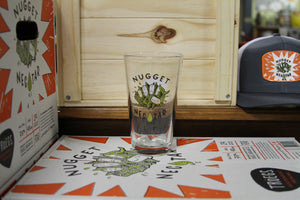 Nugget Nectar Pint Glass