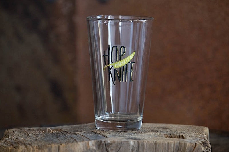 Hopknife Pint Glass