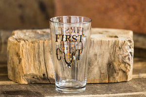 First Cut Pint Glass