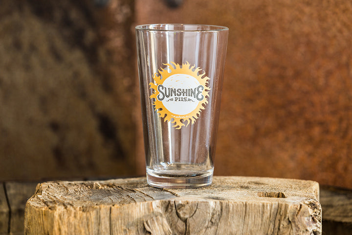 Sunshine Pilsner Pint Glass