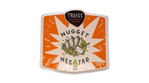 Nugget Nectar Metal Sign