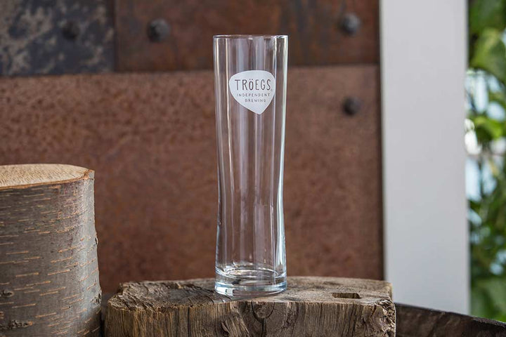 Tröegs Logo Lager Beer Glass