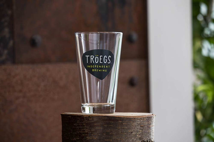 Tröegs Logo Pint Glass