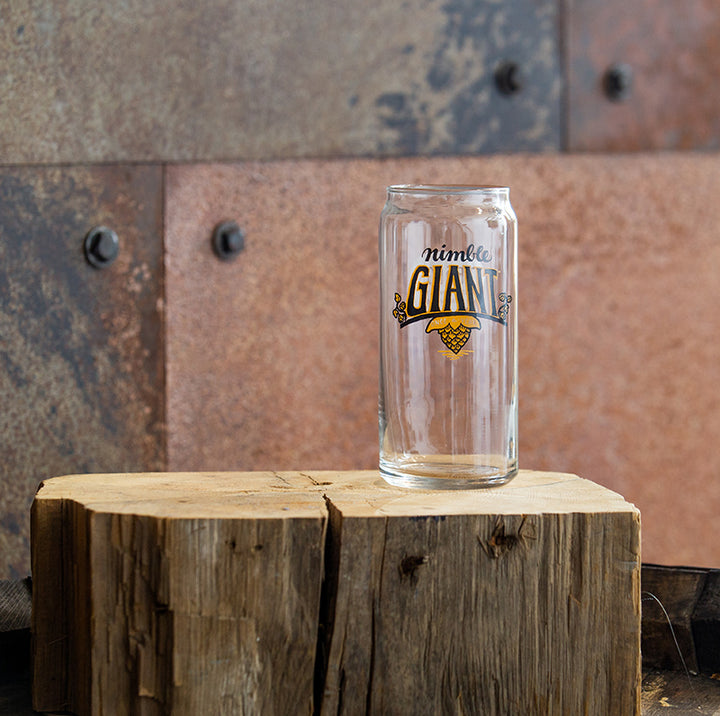 Nimble Giant 20oz. Can Glass