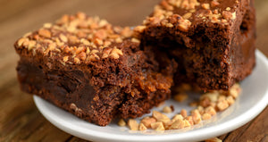 Peanut Butter and Miso Brownie (ready-to-eat)