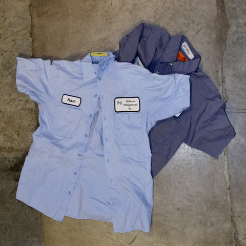 Recycled work shirt