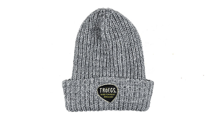Hat - Troegs Gray Knit Beanie