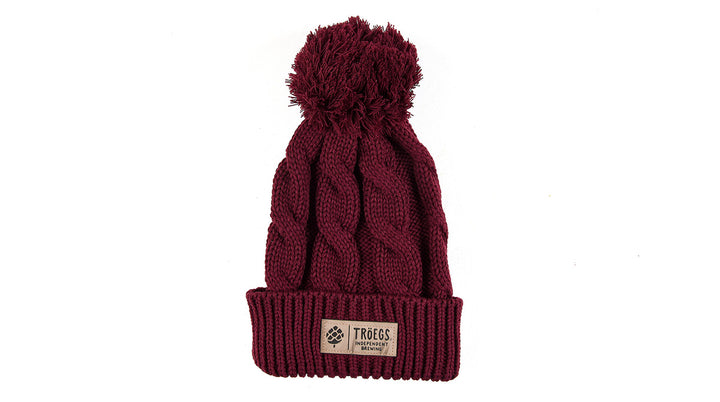 Hat - Troegs Burgundy Knit Hat