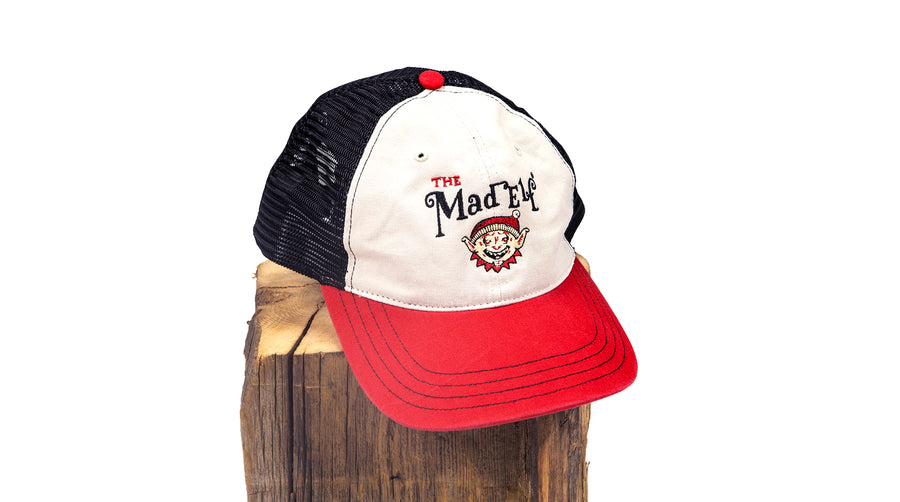 Mad Elf Mesh Hat