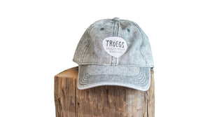 Tröegs Logo Faded Denim Hat