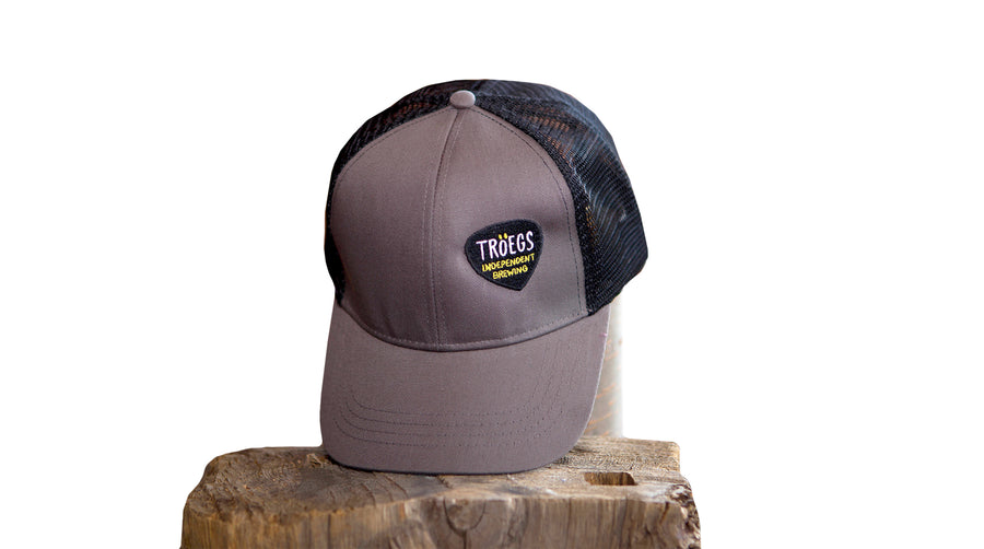 Tröegs Logo Mesh Hat - Charcoal Grey