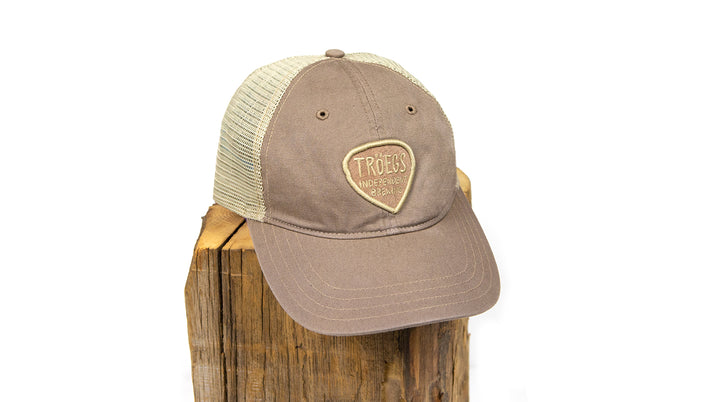 Tröegs Logo Brown Mesh Hat