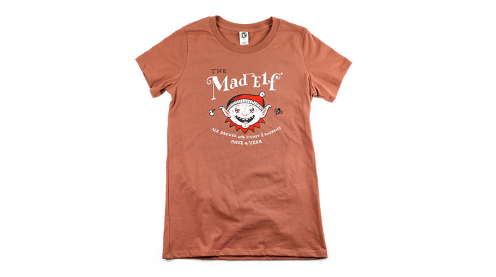 Mad Elf Ladies Tee