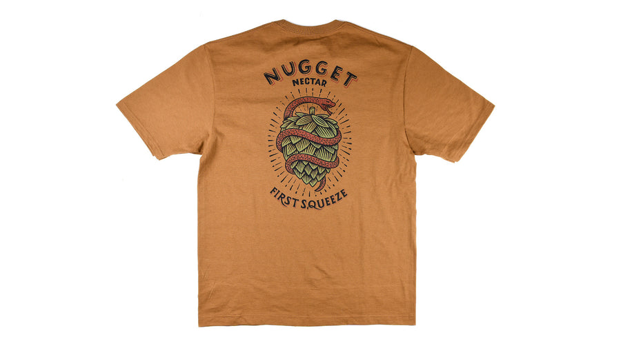 Nugget Nectar canvas tee