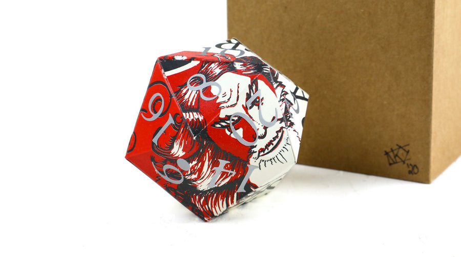 Hand-made Troegs 20-sided Die (for roleplaying)