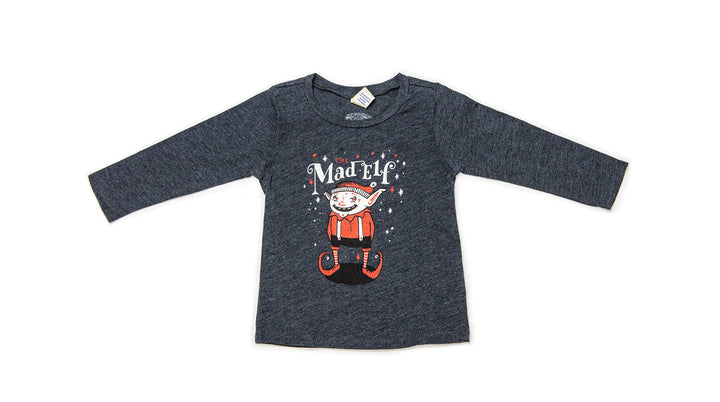 Mad Elf Infant Long Sleeve T-Shirt