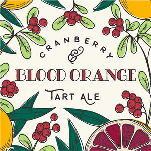 Blood Orange Cranberry Tart Ale