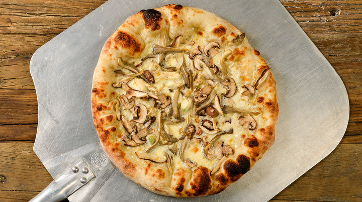 Mushroom & Garlic Cream Pizza (make-at-home kit)