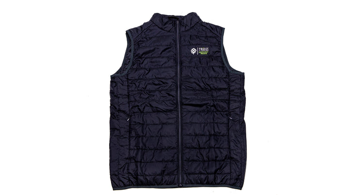 Tröegs Logo Puffy Black Vest