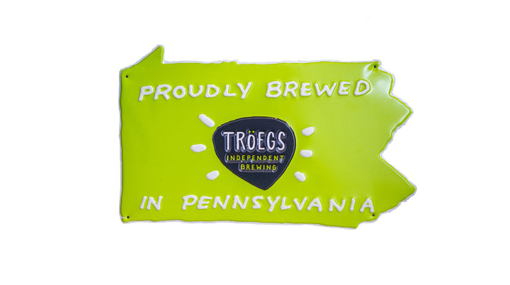 Proudly Brewed in PA Tin Tacker