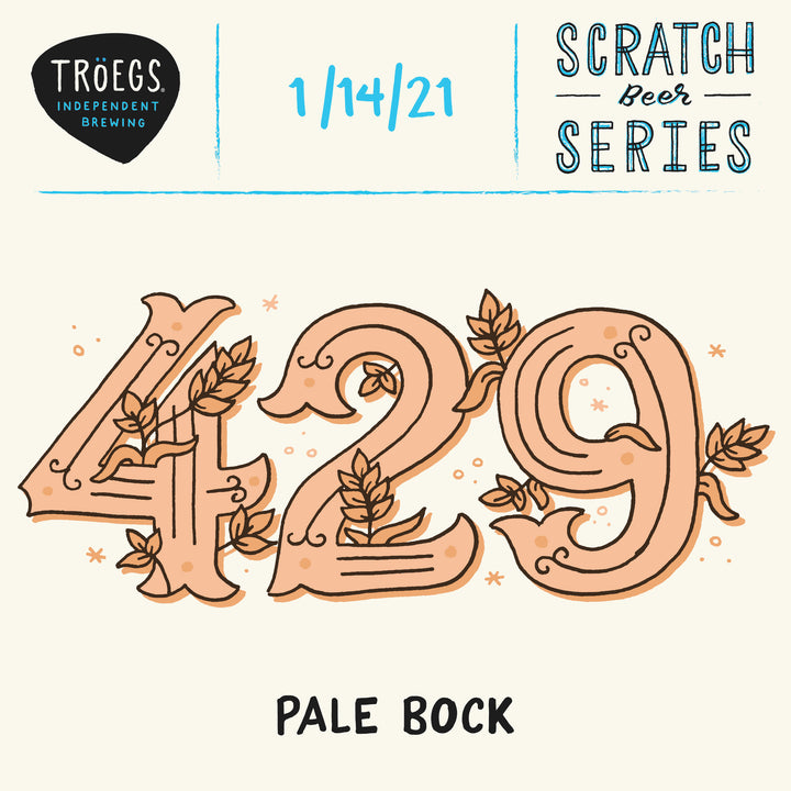 #429 - Pale Bock - 32oz Crowler