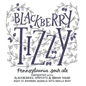 BlackBerry Tizzy- 12.7oz corked bottles