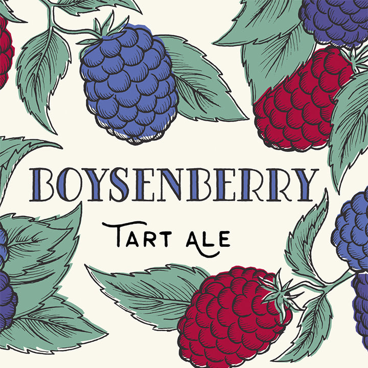 Boysenberry Tart and Fruit Ale