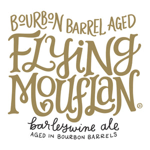 Barrel Aged Flying Mouflan - 12.7oz corked bottles