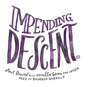 Bourbon Barrel Aged Impending Decent - 12.7oz corked bottles