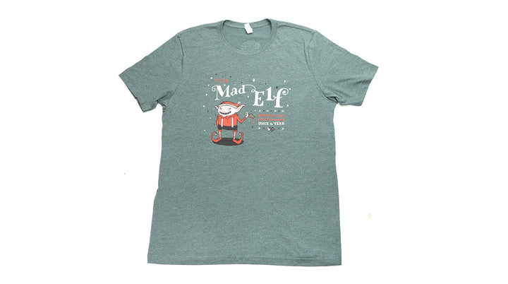 Mad Elf T-Shirt Green