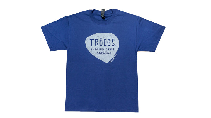 Tröegs Logo T-Shirt Navy Blue
