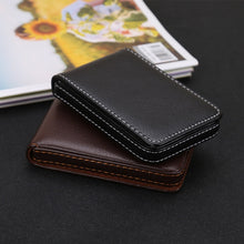 Load image into Gallery viewer, Wholesale New Business Card Holder Men's Card Id Holders Magnetic Attractive Card Case Box Mini Wallet Male Credit Card Holder