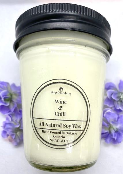 Wine & Chill Soy Candle