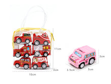 Load image into Gallery viewer, 6pcs Mini Pull Back Car Model Toys