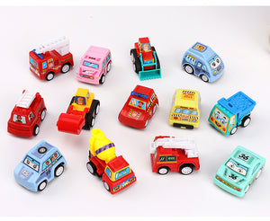 6pcs Mini Pull Back Car Model Toys