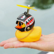 Load image into Gallery viewer, 5Pcs Cute Helmet Rubber Little Yellow Duck