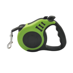 Green Pet Traction Rope Belt