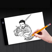 Load image into Gallery viewer, Drawing with A4 LED Drawing Tablet