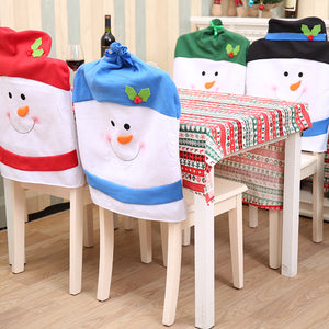 Christmas Chair Back Covers