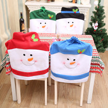 Load image into Gallery viewer, Christmas Chair Back Covers