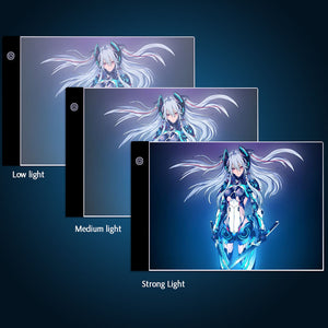 different light of Digital Graphics Pad