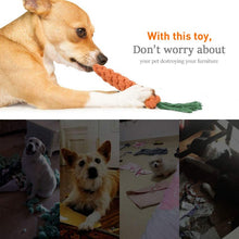 Load image into Gallery viewer, pets have fun with Dog Chew Toys