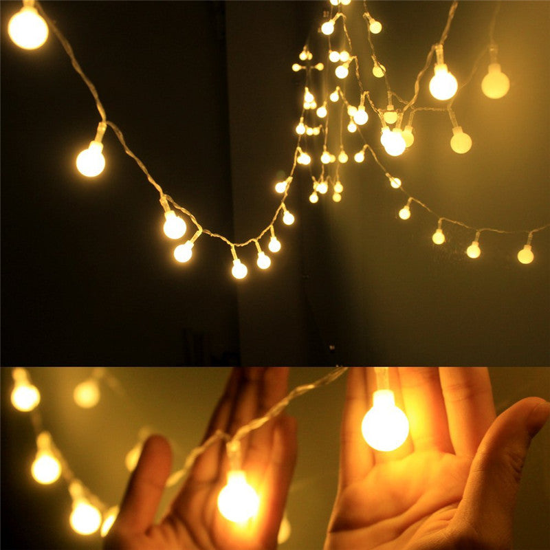 LED Warm White Ball Fairy Lights