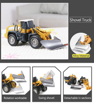 Load image into Gallery viewer, Alloy Engineering Truck Cars Toys for Kids Over 3 Years Old