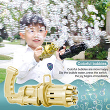 Load image into Gallery viewer, Electric Gatling Bubble Machine Toys