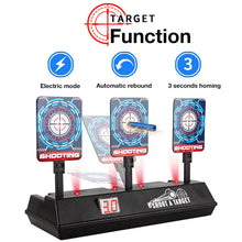 Load image into Gallery viewer, Auto Reset Electronic Shooting Target Toy