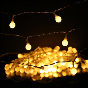Warm White Ball Fairy Lights