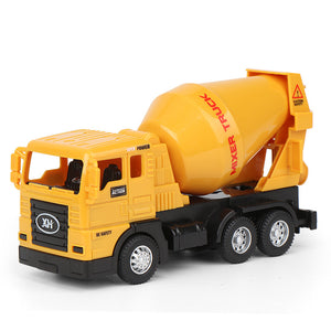 Large simulation inertial engineering vehicle toy
