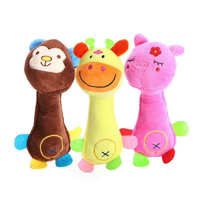Soft Plush Play Sound Teeth Toys